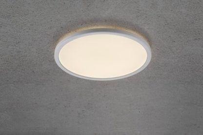 okrągła lampa sufitowa, LED