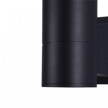 kinkiet czarna tuba, odporny na wilgoć