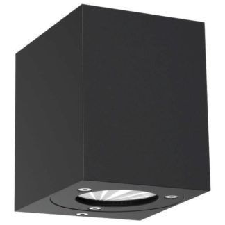 Czarny kinkiet Canto Kubi - Nordlux - DFTP - nowoczesny, IP44