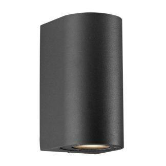 Czarny kinkiet Canto Maxi - Nordlux - DFTP - IP44