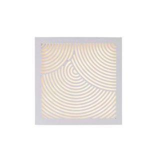 Biały kinkiet Maze Bended -Nordlux - DFTP - kwadratowy, IP44