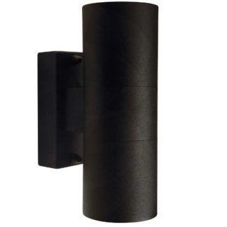 Kinkiet zewnętrzny Tin - Nordlux - czarna tuba, IP54