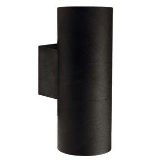 Czarny kinkiet Tin Maxi - Nordlux - metalowa tuba, IP54