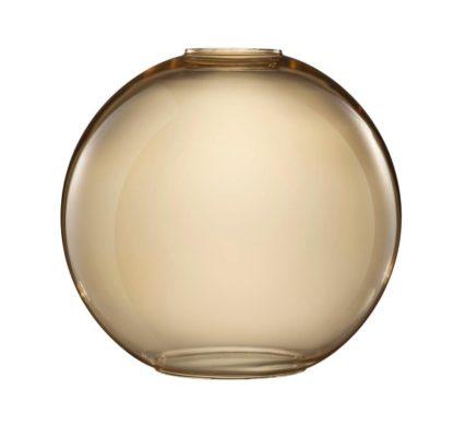 klosz kula, barwione szkło, do lampy wiszącej
