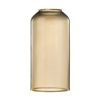 Klosz Askja Pipe 12 - Nordlux - DFTP - bursztynowe szkło