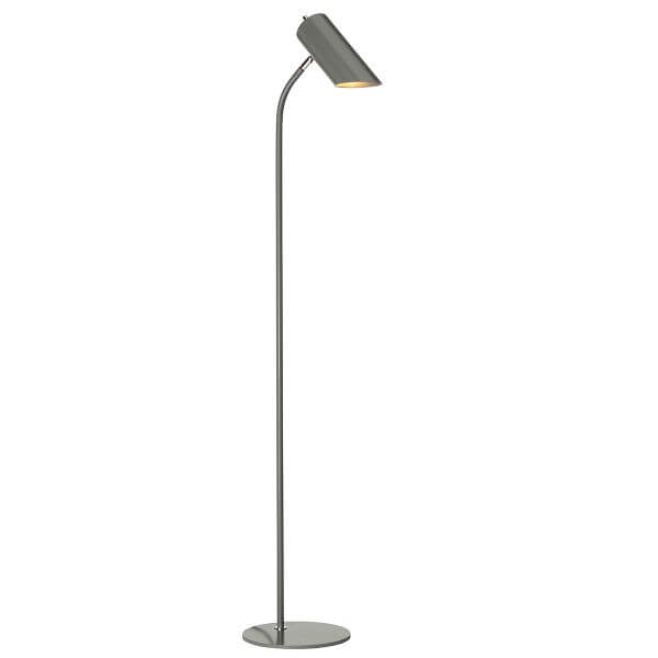 Minimalistyczna Lampa Podłogowa Quinto Ciemnoszara Nowoczesna