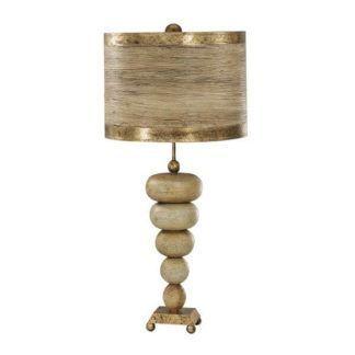 Oryginalna lampa stołowa Retri - podstawa w kształcie kamyków