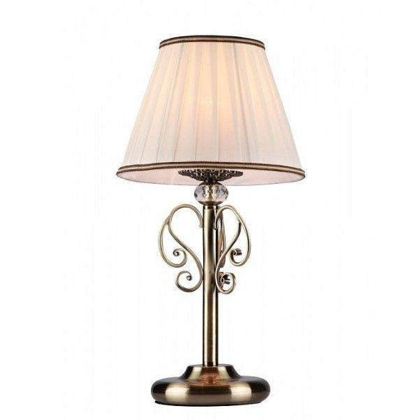 klasyczna lampa stołowa z jasnym abażurem