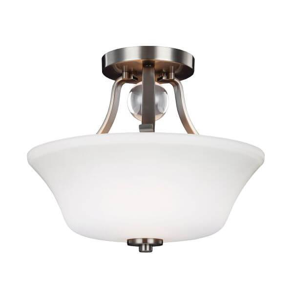 lampy sufitowe z bialym kloszem