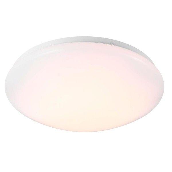 klosz lampy plastik okrągły biały