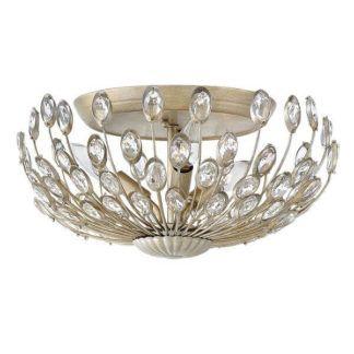 Połyskująca lampa sufitowa Tulah - styl glamour