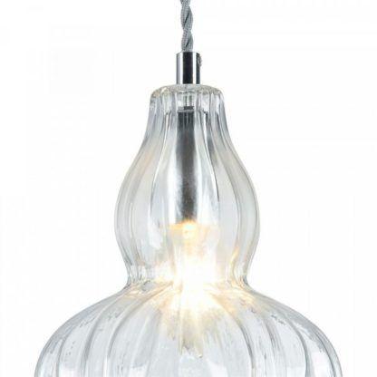 lampa wisząca, szklana, klasyczna