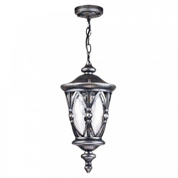 lampa do zastosowania zewnętrznego, srebrna szklana