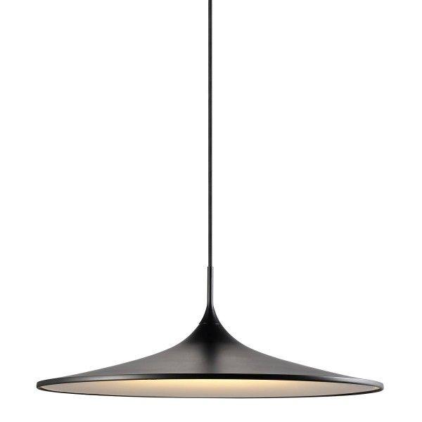 lampa wisząca inspirowana dalekim wschodem, czarny klosz