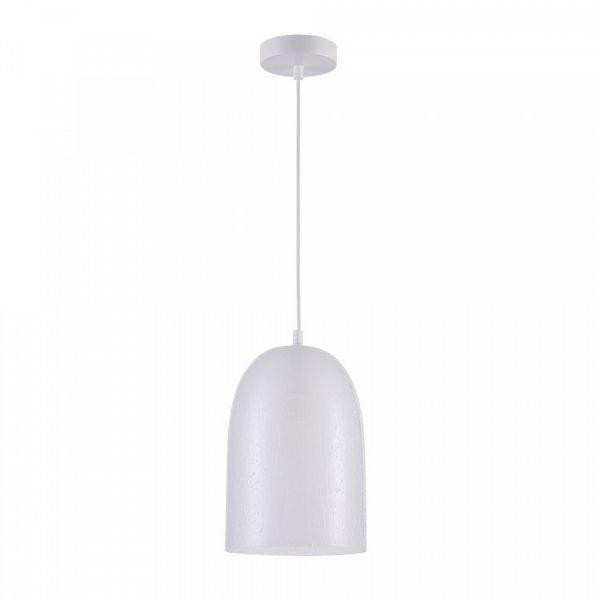 lampa wisząca ze szklanym, nowoczesnym kloszem
