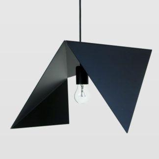 Lampa wisząca Bird II - stalowa, czarna