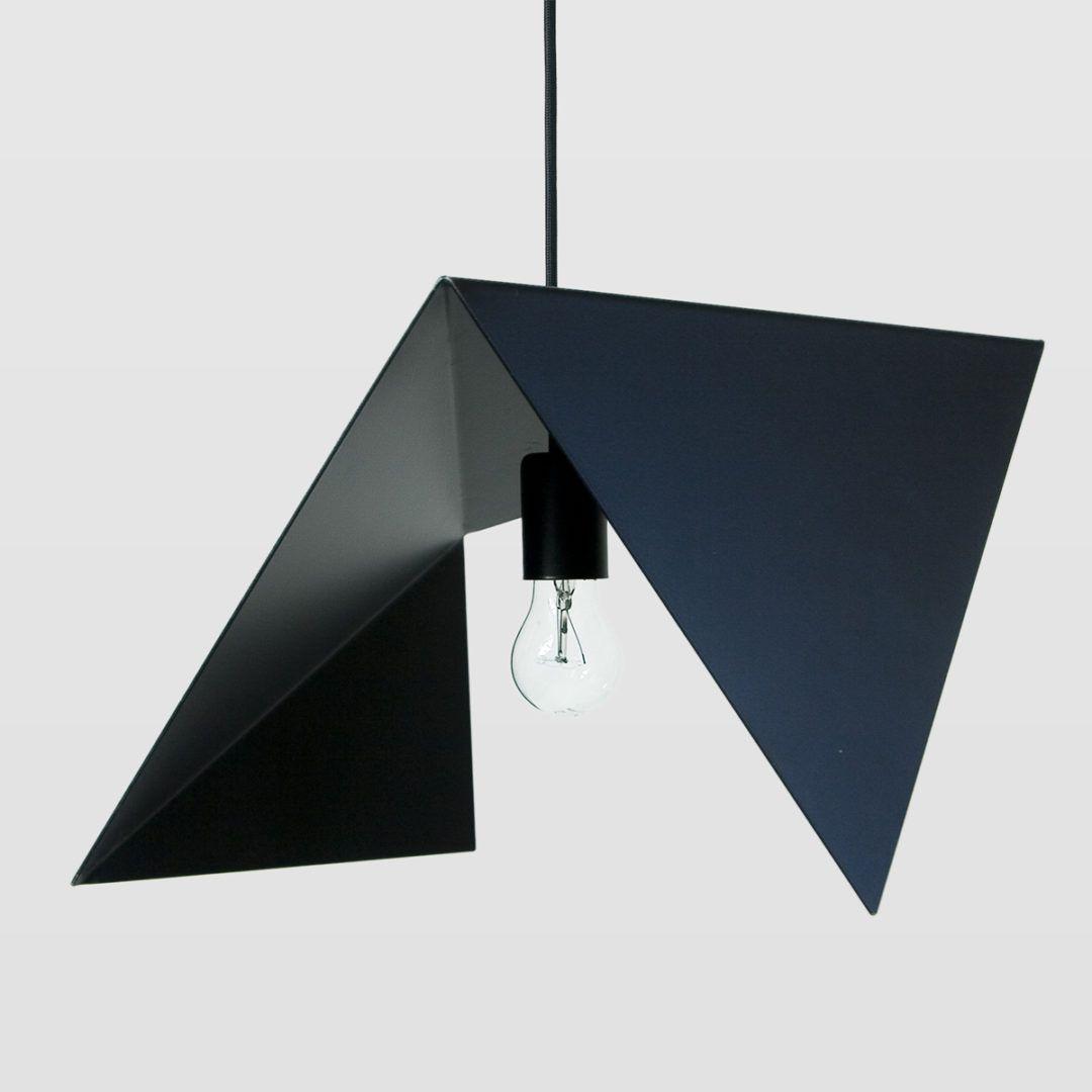 asymetryczna lampa wisząca modern
