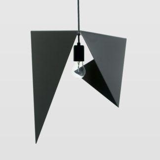 Lampa wisząca Bird I - stalowa, czarna