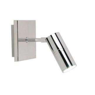 Srebrny kinkiet Stick - nowoczesny punkt świetlny