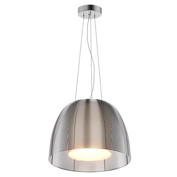 Efektowna lampa wisząca Filo podwójny klosz, nowoczesna