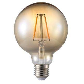Dekoracyjan żarówka Edisona LED E27 1,7W - Nordlux - dymione szkło