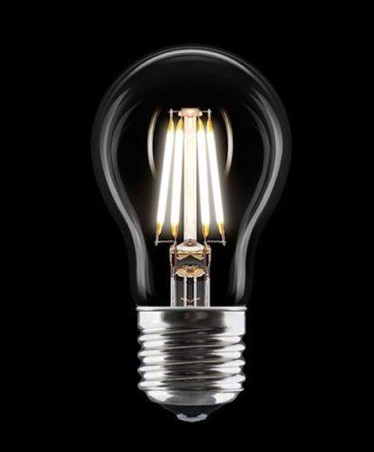 Żarówka z dekoracyjnym żarnikiem - UMAGE - czarne tło