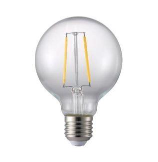 Żarówka ozdobna bezbarwna z żarnikiem LED - E27 4.4W