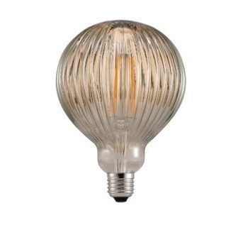 Retro żarówka edisona - szkło zdobione LED E27