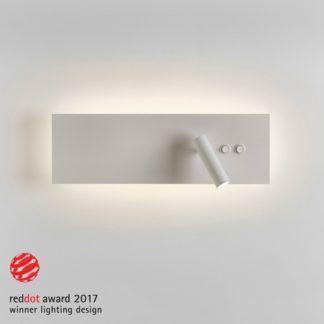Efektowny kinkiet Edge Reader - reflektor LED, poświata wokół