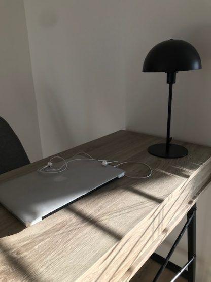 lampa stołowa czarna do gabinetu