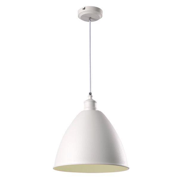 biała lampa wisząca, klasyczna, do kuchni retro i prowansalskiej