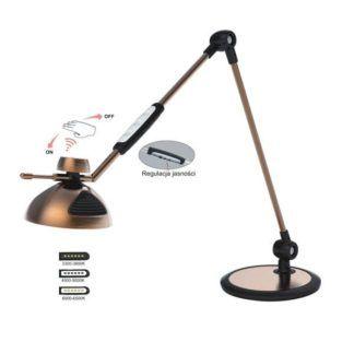 Lampa biurkowa Morino - nowoczesna, regulacja barwy światła