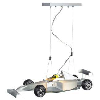 Lampa wisząca Junior - klosz w kształcie auta