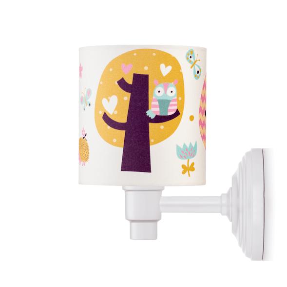 pokój dziecka sowy lampy aranżacje