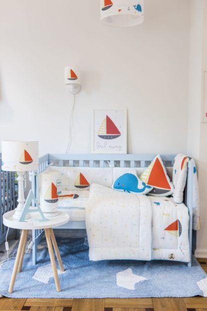 morski pokój dziecięcy lampy