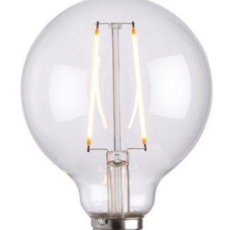 Bezbarwna żarówka edisona - ozdobna do lamp wiszacych