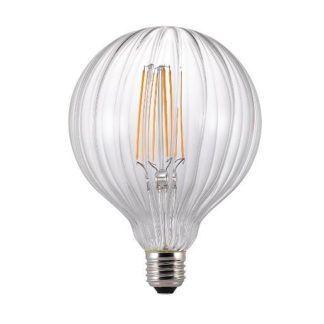 Nowoczesna żarówka dekoracyjna edisona LED E27 Avra Stripes w2