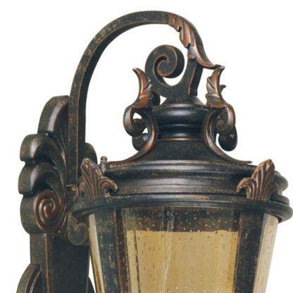 klasyczny kinkiet zewnętrzny latarnia