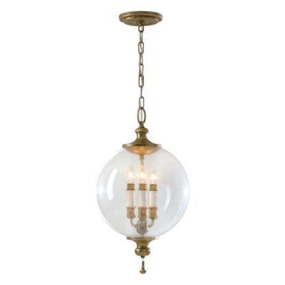 lampa wisząca klasyczna szklana