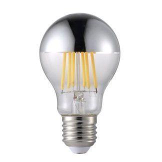 Mała żarówka LED dekoracyjna - Nordlux - srebrna powłoka