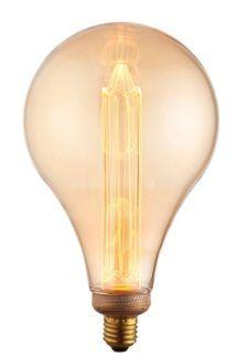 Industrialna żarówka edisona złota LED E27 - duża klasyczna