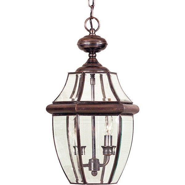 szklana lampa wisząca klasyzczna