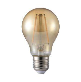 Żarówka dekoracyjna przyciemniana LED E27 1.7W - szklana brązowa