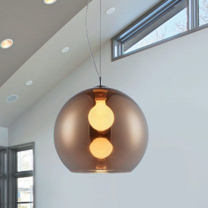 lampa wisząca szklana kula nowoczesna