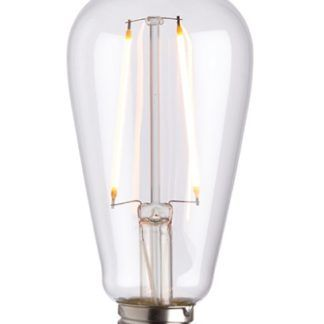 Podłużna żarówka edisona - dekoracyjny środek LED E27 2W