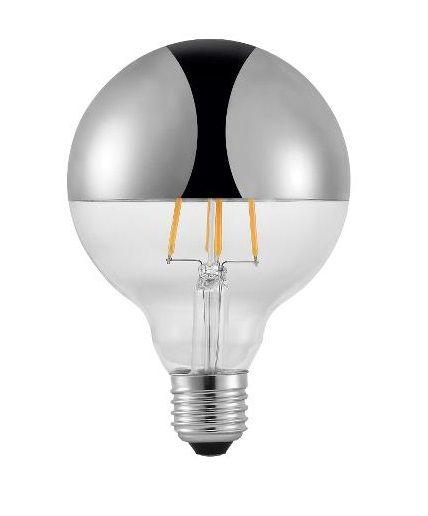 Nowoczesna żarówka Edisona Ze Srebrną Powłoką Led E27