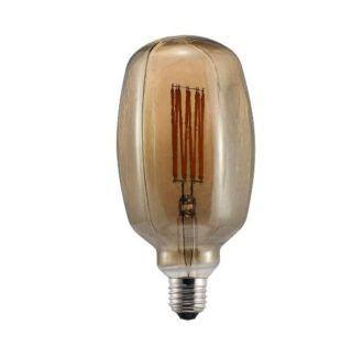 Retro żarówka dekoracyjna edisona LED z ciekawym środkiem E27 DIM