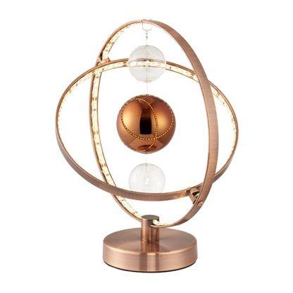 kosmiczna lampa stołowa planety