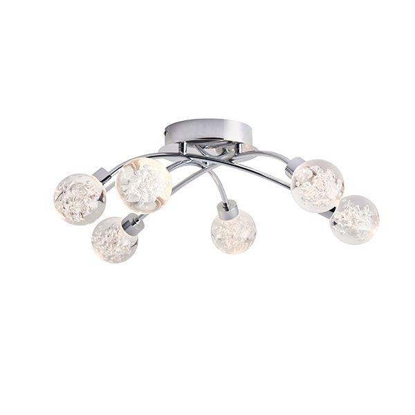 nowoczesna lampa sufitowa LED