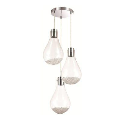 lampa wisząca klosze w kształcie żarówek